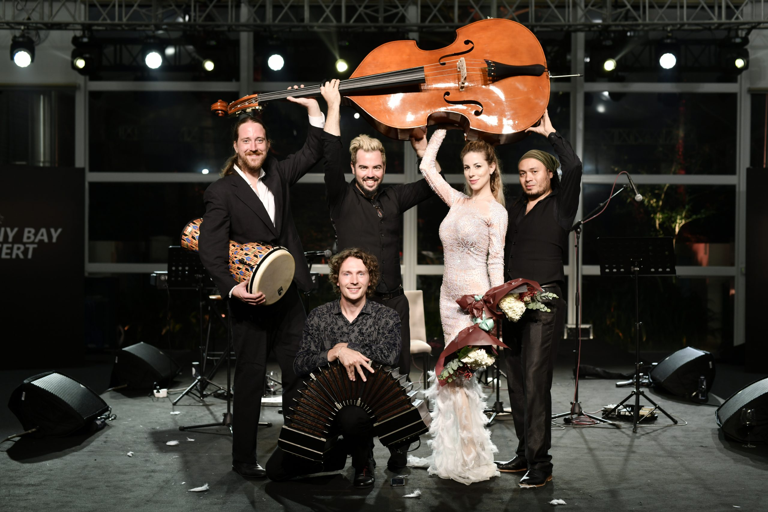 ANDY SANTANA BASS ,DANIELA BESSIA , THE GARDEL TRIO ,DOUBLE BASS , TANGO BAND IN CHINA , ARGENTINA , POR UNA CABEZA , EL CHOCLO , DESPASITO ,ACOUSTIC BAND 3