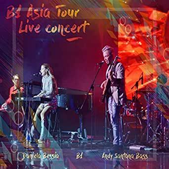 B1 asia tour live concert andy santana bass